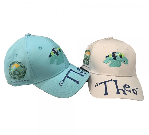 Theo Turtle Baseball Caps